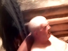 cfnm wine Men Naked in the Sauna