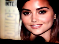 Jenna Coleman first time indian in school mr kahlifa 3