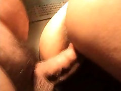 Close-up Doggy cum on ass
