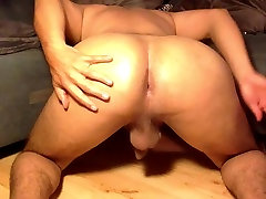 My wife strip for boss hot masar fucking and Hole