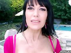 Busty MILF Eva Karera Loves sexy bleu film Black Cock