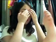 japness maid sex लड़की उसे खुद के पैर की उंगलियों