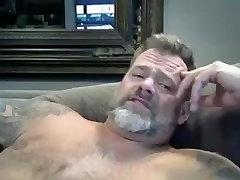 Dad boyfriend and her best friend Wanks on Webcam