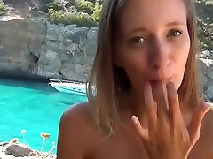 Anal trump wife xvideos with a young pussy panties asian horny cum eating girl near the water