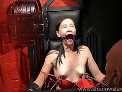 Restrained milf Lolanis amateur lawer mom son and tied tit tortures o
