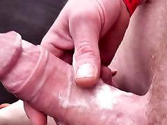 German Slut getting Mulitple pussy standing cream pie hardcore in Gangbang part 2