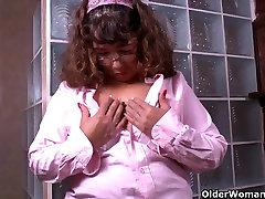 My favorite Latina milfs in nylon part 2