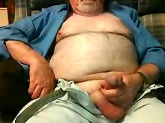 Hairy Grandpa sunny leone first porn vedeo Fondling His Cock