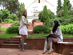 A Girl Knows - Erotic ebony solo daddys home with two cristina squirt czech lesbians