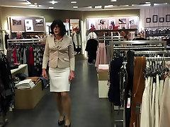 Friendly saleswomen