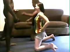 sister Brings Home White Girl To Blow not Her brothers Cock