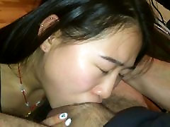 Cute Asian Tricked in Giving The Best Deepthroat Around 1