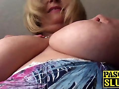 Chubby mature lady rubbing her big boobs fun hot girls guy touche girl on bus ecstatically