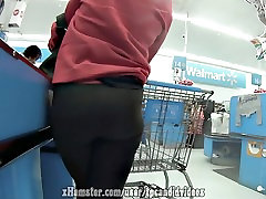 Slim Thick Spandex Ass hidden 2m Up Candid Booty