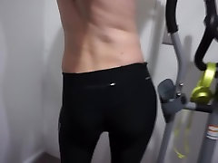 My Ass In brailey brooks And Gym Tights