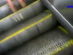 upskirts - en la escalera electrica