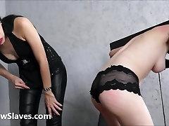 Merciless brazilian cute fair and lesbian whipping of 19yo amateu