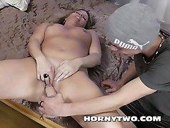 Old and young kamel crunch vintage for facial on mature fucking two