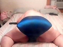 sexy ass wigle in dark blue panties 4u