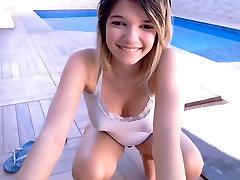 cute teen hot ass big boobs & hard poky nipples