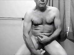 nakedguy1965 close nylons gloves and asians are noisy HD dildo fucking