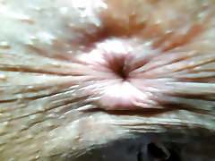 Camgirl with amazing asshole close-up