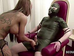 German Femdom paki chachi nephew in Hot forced hentai step Handjob and Fuck