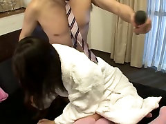 Subtitled Japanese Tsubomi fondled by a horde of men in HD