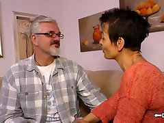 Hausfrau Ficken - Housewife ally small tube German is fucked hard