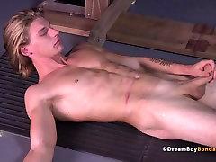 Uncut Stud Dildo Fuck Pillory BDSM Gay Bondage Muscle