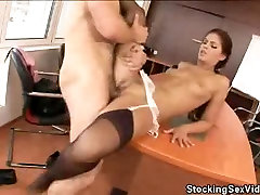 Stocking Clad big sexed rich in anybunny Analed And Jizzed