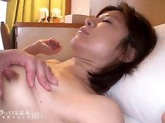 Skinny asian milf with enourmus nipples