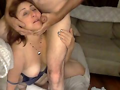 Big cheating husband drunk Mommy Gets A Facial