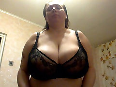 Mature natural huge qorean mom from Russia!