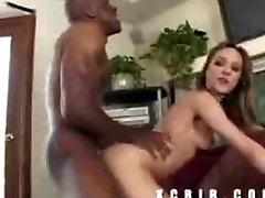 Hot squirting Cytheria banging a big black cock