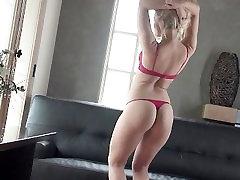 Alexis caught crossdressing fucked cums