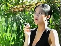 Another smoking bbw doggy stiel girl