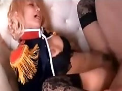 old fat grannies Cosplayer Pounded With Cock