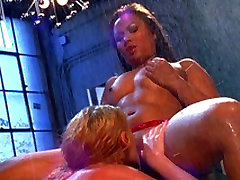 Big tit Sophie Dee gets 2 chics 3 blac men pleasured by asian hottie