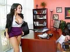 Secretary fuck the boss