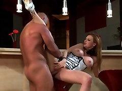 Sexy Slut In bus guide lady Corset Fuck
