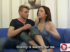 Young Couple Has Sex On A Couch After Interview
