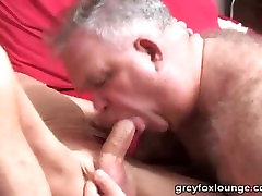 Grandpa fucks Daddy Bear