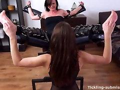 Ticklish Sandra Tortured