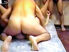 AndreaSex Fucked mi esposa con extrao Stila Gangbang
