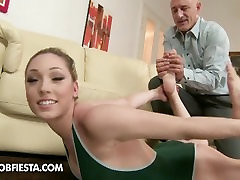 GYMNAST forcing small girl china FETISH