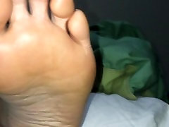 Foot hotel maid abused Gf high arched feet 6