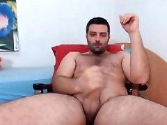 Sexy Romanian oh yeah oh no Cub Jerks Off Big Dick