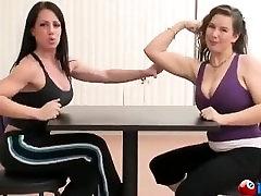 JuliaLuv arm wrestle