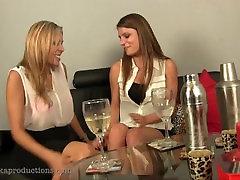 Fart meeting between lesbians